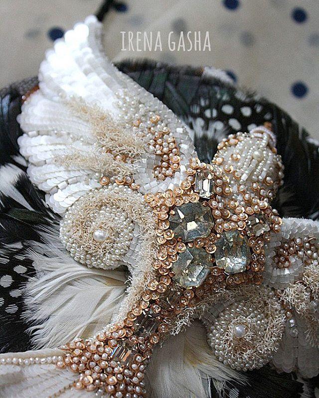 Птица поближе.... #handembroidered #bird #purse #oneofakind