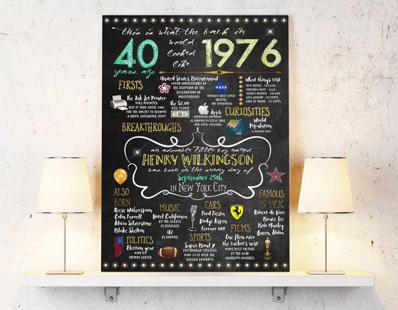 ber ideen zu 40th anniversary parties auf. Black Bedroom Furniture Sets. Home Design Ideas