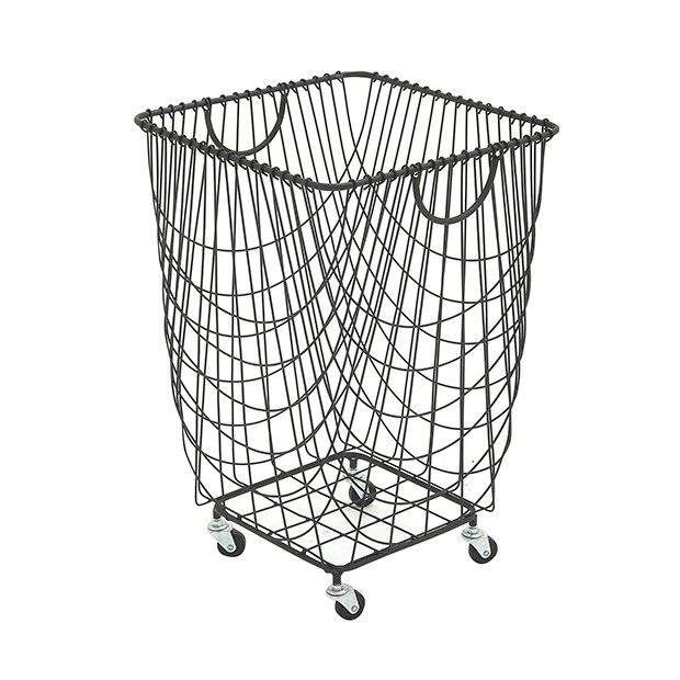 Metal Storage Basket On Wheels Laundry Basket Metal Laundry