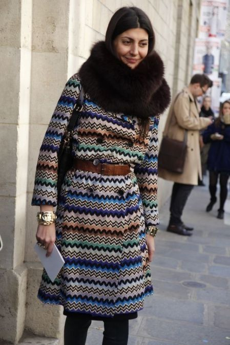Vintage Missoni: that coat!