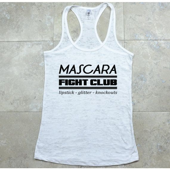 Boxing Tank Top. Mixed Martial Arts. Mascara Fight Club Shirt. Kickboxing Tank. Muay Thai. Taekwondo. MMA. Aikido. Krav Maga.