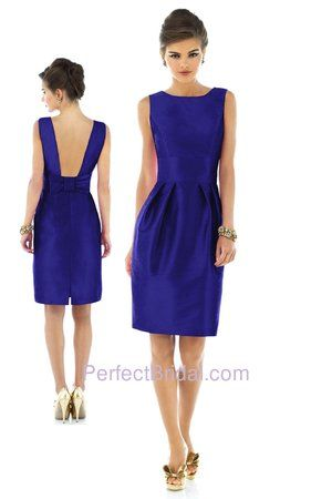 Alfred Sung Bridesmaid Dress D523. Visit perfect-bridesmaid-dresses.com for more info