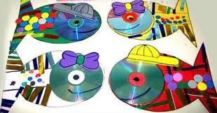 manualidades con cd ile ilgili görsel sonucu