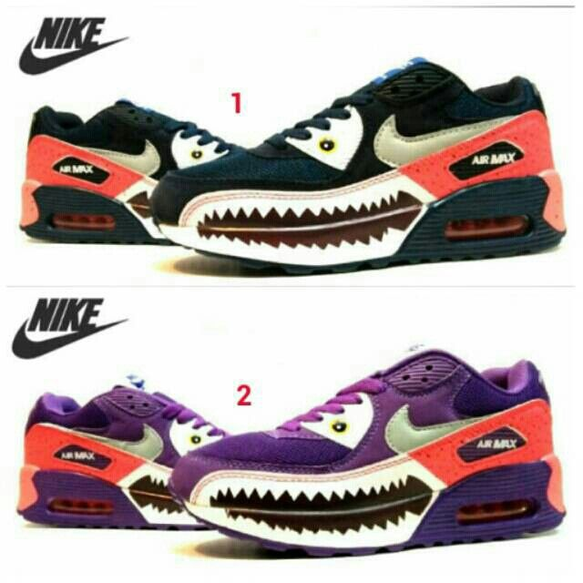 Saya menjual Sepatu NIKE Airmax Shark Women Ungu Perempuan Olahraga Lari Wanita Running Jogging Sport Santai seharga Rp249.000. Dapatkan produk ini hanya di Shopee! https://shopee.co.id/sepatu_dan_jam_tangan/13004315 #ShopeeID