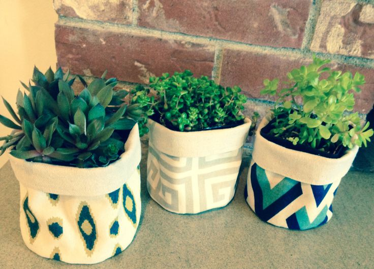 fabric planter covers