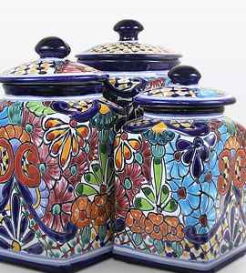 Kitchen Canisters #Talavera #NewDesigns