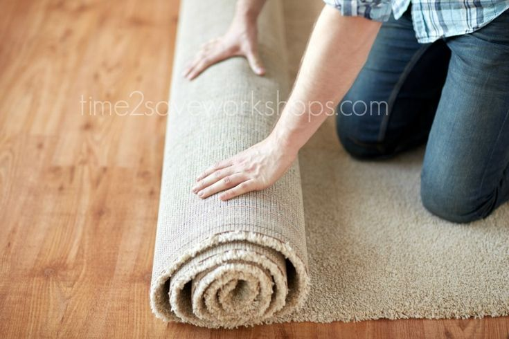 Frugal Tip: Make area rugs out of carpet to save hundreds of dollars! There are three ways to make a rug out of carpet remnants - see what's best for you.