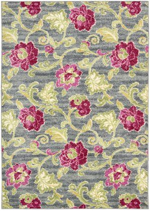 Nourison Waverly: Aura of Flora AOF02 Rectangle Rug | Free Shipping
