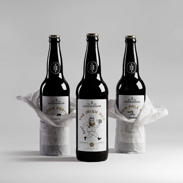 Packaging design inspiration #16 - UNDERGROUND BEER CLUB by Mundial