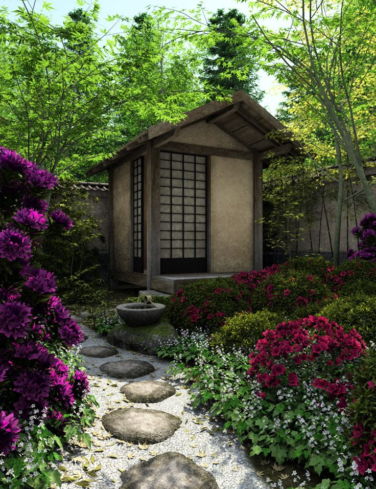 17 best images about japanese dream on pinterest for Japanese garden shed