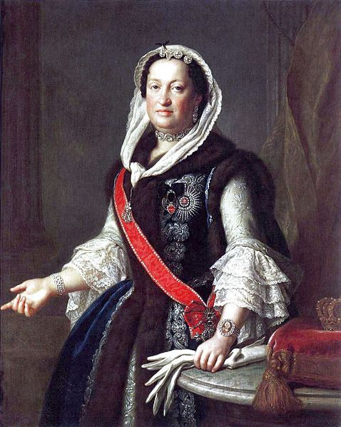 Queen Maria Josepha, Wife of King August III of Poland, by Rotari, 1755