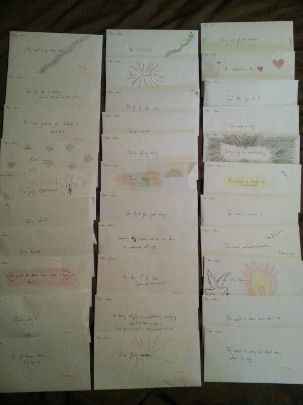 open when letters for boyfriend examples jess quot finally finished my open when letters for my 23865