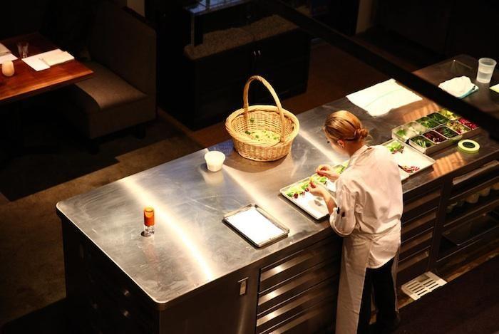 The Next French Laundry? : Remodelista  Open Kitchen restaurant
