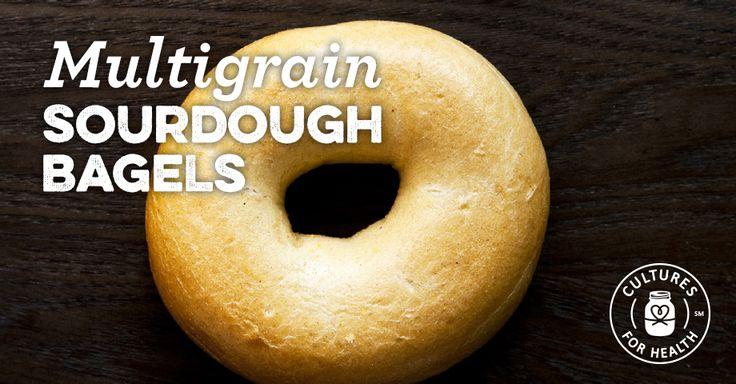 Multigrain Sourdough Bagels