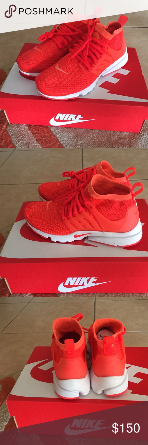 Women Air Presto Flyknit Ultra New Women's air presto Nike Shoes Athletic Shoes