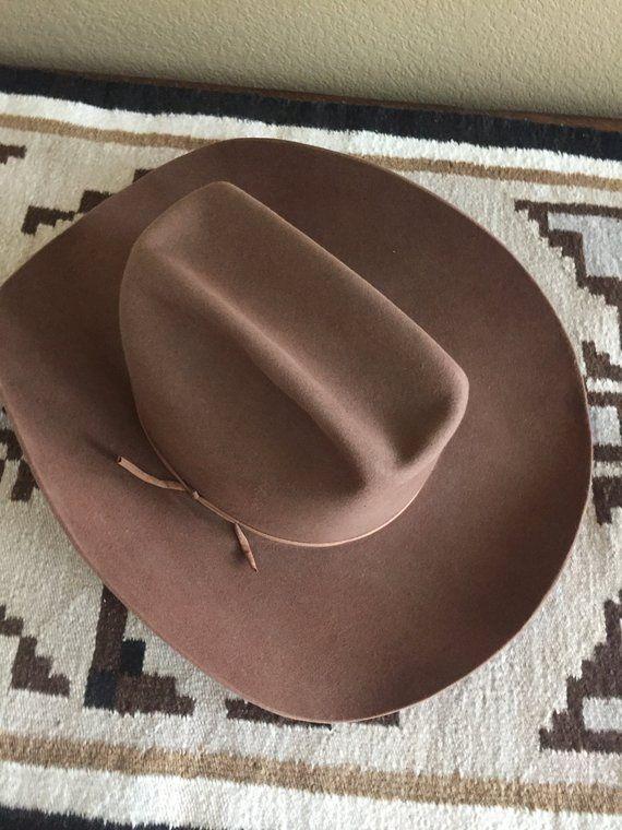 Vintage Tycoon Miller Of Denver Colorado Cowboy Hat Size 7 1 4 Etsy Cowboy Hats Vintage Sweat Band