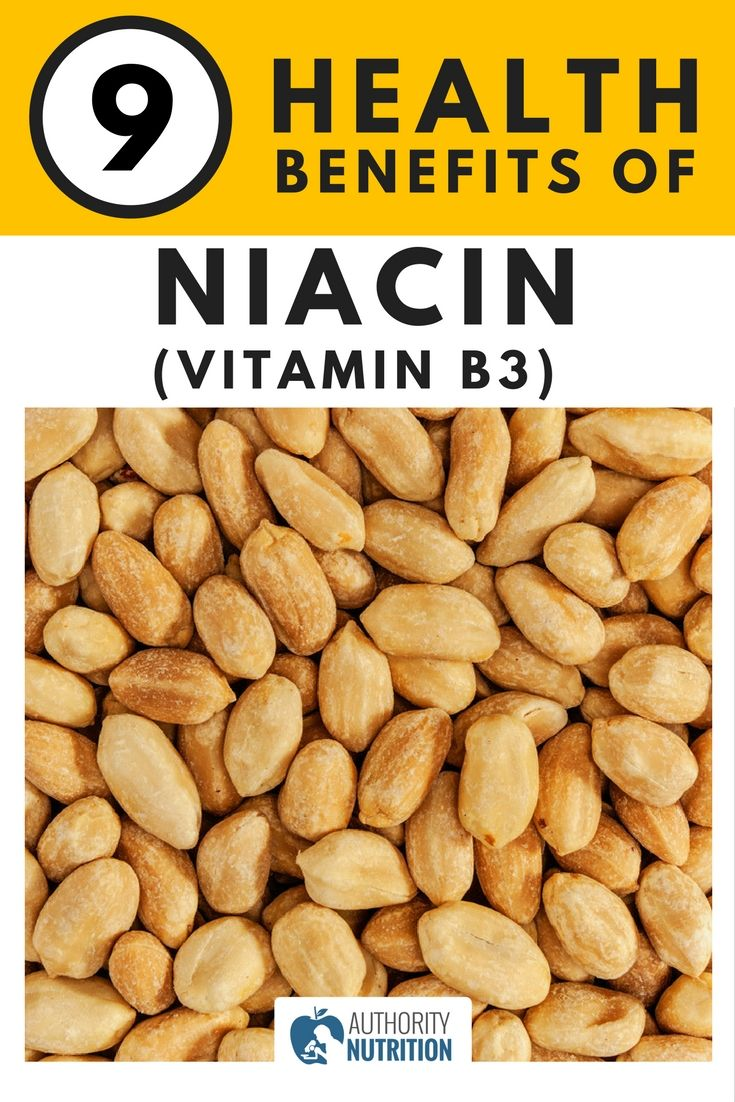 Niacin (vitamin B3) is a very important nutrient for your body. It has many health benefits, along with several side effects if you take large doses. Learn more here: https://authoritynutrition.com/niacin-benefits/