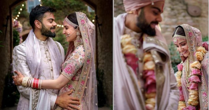 My Wife Can I Say This Again My Wife And That S How I Lost My Heart All Over Again To This Gem Of A Person Virat Ko Wedding Video Wedding Wedding Videos