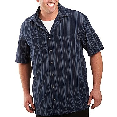 Van heusen button down shirt big tall jcpenney victor for Tall size dress shirts