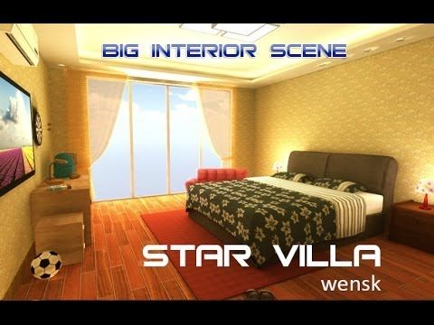 """Unity 3D realtime interior project """"star villa"""" Hi, everyone.This project is named """"Star villa"""", it's created from Unity software,in this project have over 144 prefabs ready to use for your own project,they are all low polygon models.whether you are artist or architecture designer, teacher or student, you can take a watch and understand how to lighting a big interior scene in Unity. if you interesting about this project, you can purchase it from unity a"""