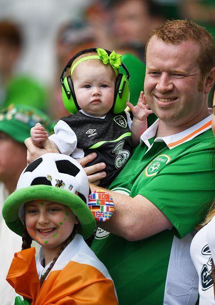 Irish Fans, Euro 2016