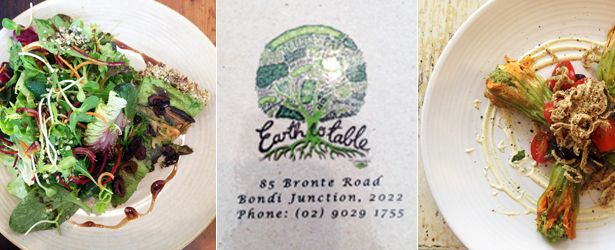 Restaurant Review of Earth to Table in Bondi Juction (Sydney), Australia (from a Vegan perspective)