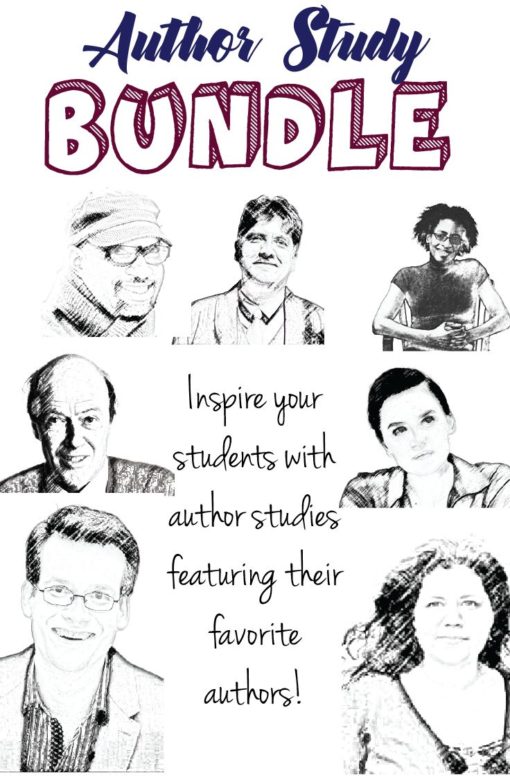 Author Study Bundle! Inspire your students with author studies featuring their favorite authors.