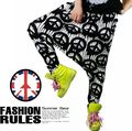 Online Shop New fashion Brand Harem Hip Hop Dance pants candy color patchwork embroidery loose Sweatpants Costumes female sports trousers Aliexpress Mobile