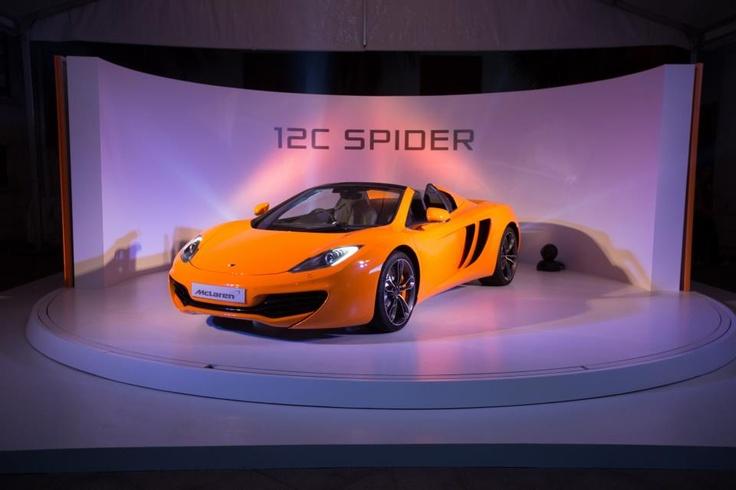 MClaren MP4-12C #Spider
