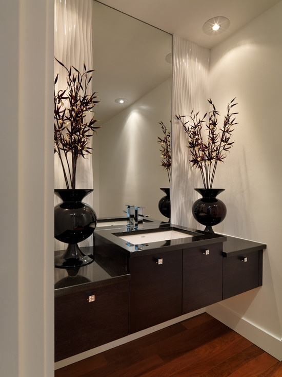 68 Best Powder Rooms Images On Pinterest Bathroom Ideas