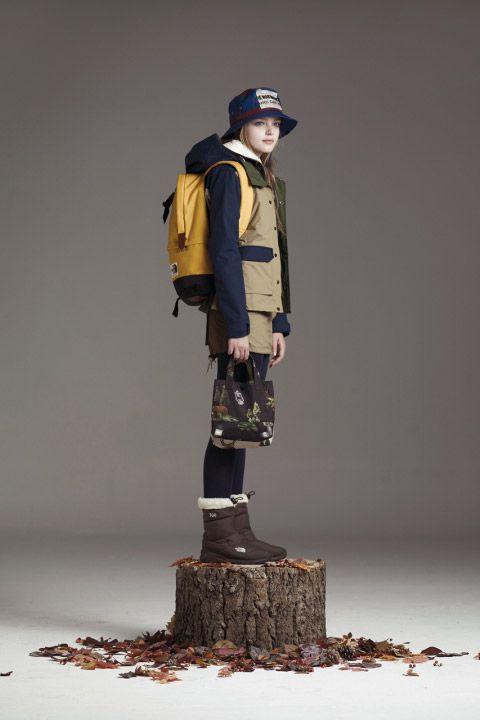 The North Face WHITE LABEL 韓国限定ライン 2014コレクション Lookbook005