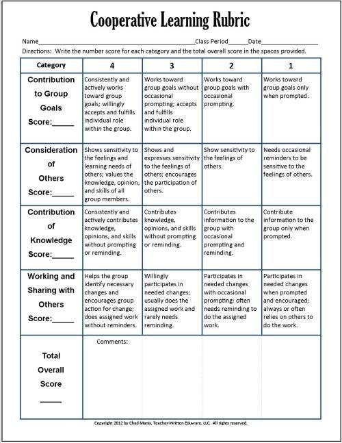 Rubrics For Differentiated Instruction - WordPress.com