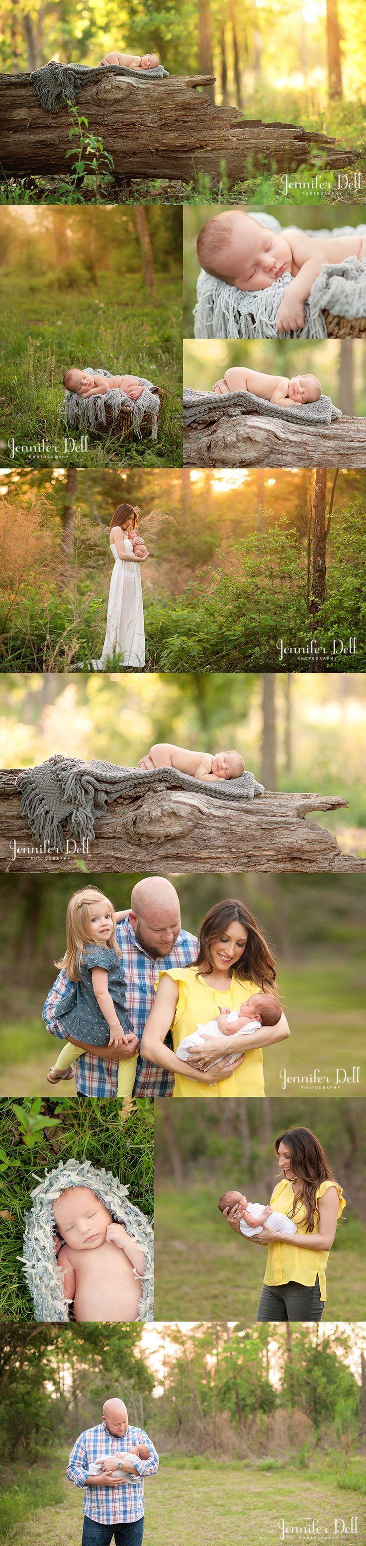Sweet summer baby… houston newborn photographer © Jennifer Dell Photography | 2014