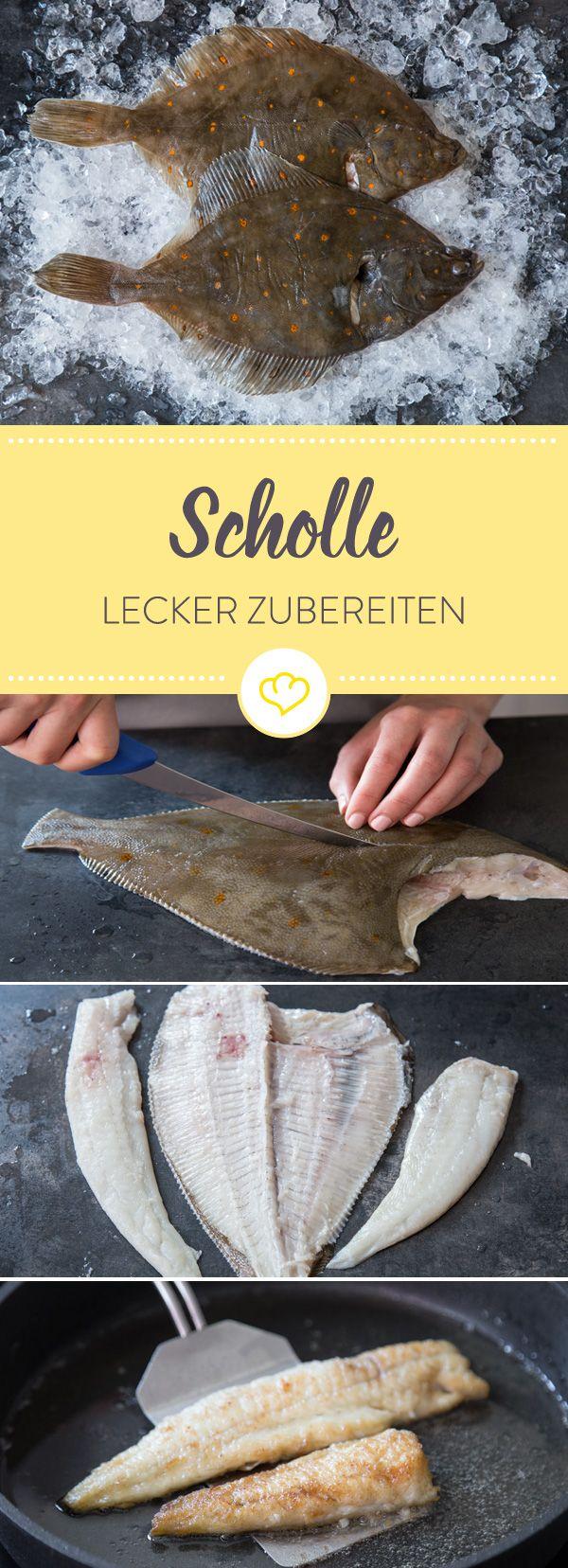 Fangfrische Scholle erinnert mich immer an Sommerurlaub: Hier erfährst du, wie du den köstlichen Plattfisch filetierst und lecker zubereitest.