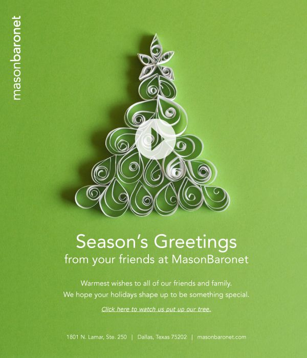 2011 MasonBaronet Holiday email by MasonBaronet