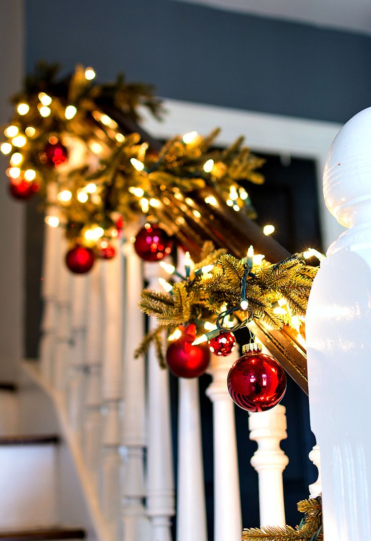 Garland Decorating with Ornaments