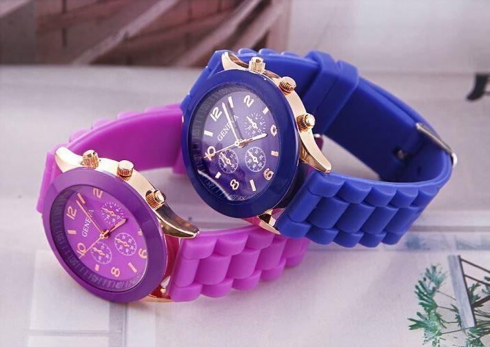 Zegarek  #zegarek #kolory #fiolet #granat #dodatki #sprzedam