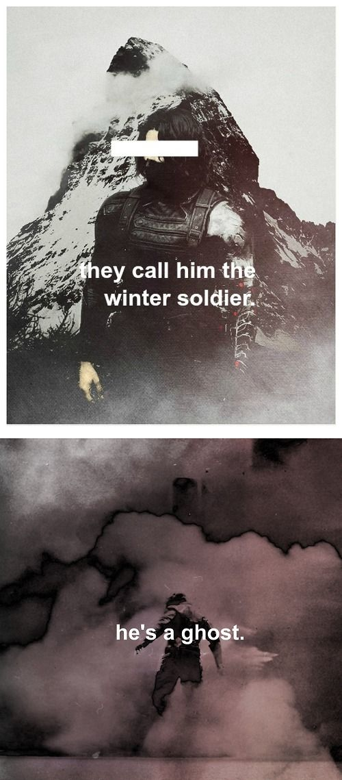 Winter Soldier: you'll never find him.