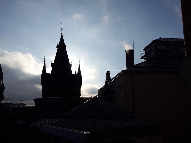 Ze střechy Obecního domu