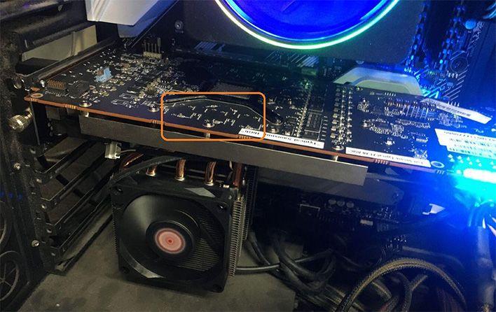 Alleged Amd Radeon Rx 6000 Big Navi Engineering Sample Leaks With 16gb Gddr6 In 2020 Graphic Card Amd 16gb