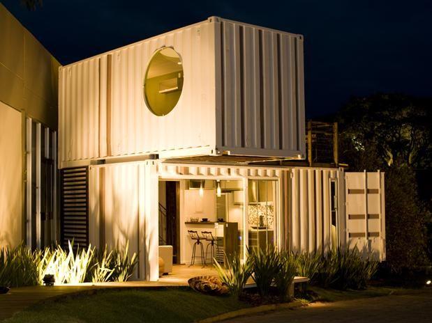 Arquiteta traz ao Brasil o conceito de casa-contêiner.
