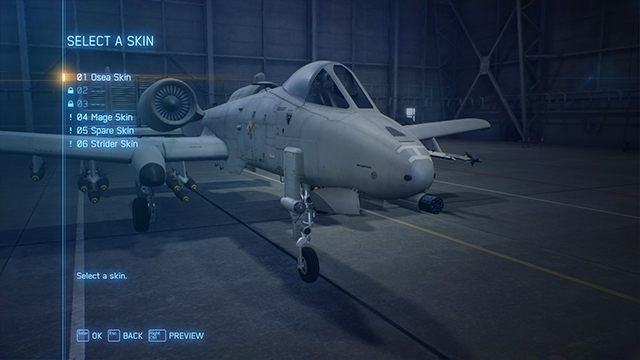 1 Why Cant I Choose Skins And Emblems For My Aircraft In Ace