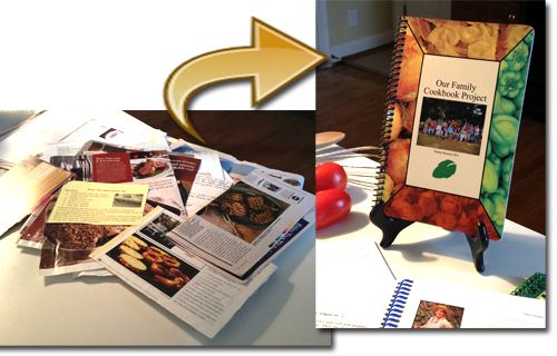 Cookbook Software - make a cookbook with our award winning recipe software - Minimum order 10 cookbooks, Number of Color photos included (first photo free, others .30 cents per book ea under 150 copies, .15 cents/book ea otherwise)