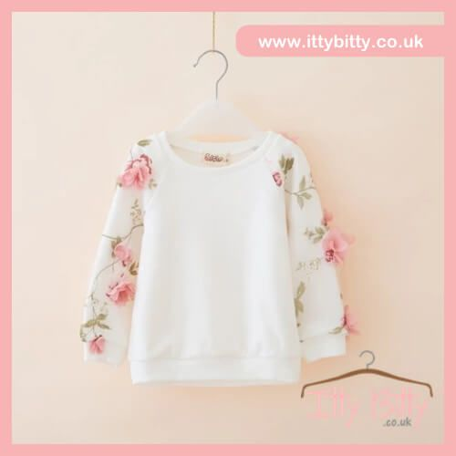❤️❤️❤️ SALE | AGE 5 & AGE 6 ❤️❤️❤️  Shop here 👉🏻https://www.ittybitty.co.uk/product/itty-bitty-3d-flower-jumper/?utm_content=bufferd71bc&utm_medium=social&utm_source=pinterest.com&utm_campaign=buffer  🅿️ PayPal or 💳 Credit/Debit card 🔐Secure website #girls #jumpers