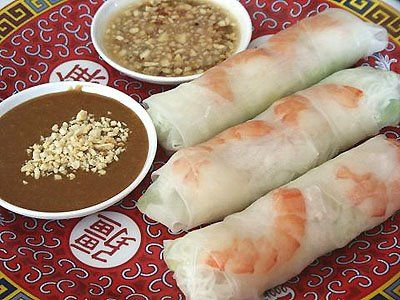 Vietnamese Summer Rolls with Sauce make peanut sauce...I used chopped ...