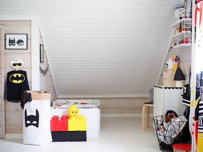 kids room muurame lego marimekko ikea superhero
