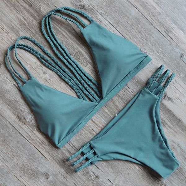 Hot New Design Sexy Brazilian Bikini Swimwear Women Swimsuit Biquini Push Up Bikinis Set Bathing Suit
