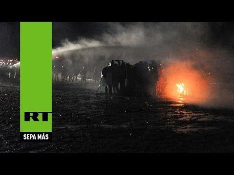 Represión contra indios sioux deja 167 heridos por oleoducto de Dakota