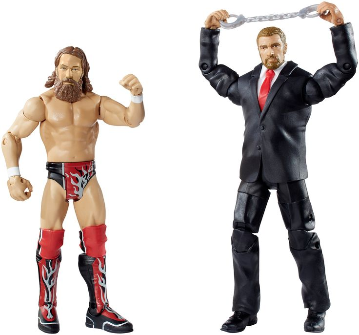 wwe battle pack series 32 daniel bryan vs triple h action figure - Triple H Halloween Costume
