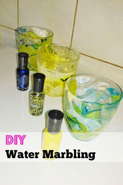 Op zoek naar een creatief cadeau voor oma en opa, of voor moederdag. Probeer dan eens dit verven met nagellak, oftewel water marbling.
